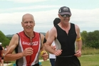 Whanganui Multisport Club member Allan Caird won the Tane (male) 60-64 race at the Hawkes Bay Ironmaori event in Napier on Saturday. Photo/Supplied