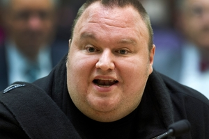 Kim Dotcom's eccentric readiness adds colour to the news palette. Photo / NZ Herald