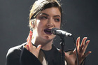 Lorde's become No. 1 in her own unique way. Photo/Getty