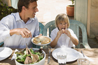 'Fathers need to think about what they put in their mouths,' - expert. Photo / Thinkstock