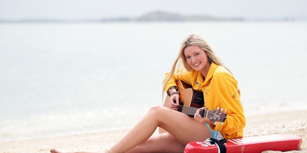 Jamie McDell says when she connects to something strongly she writes a song about it. Photo /  APN