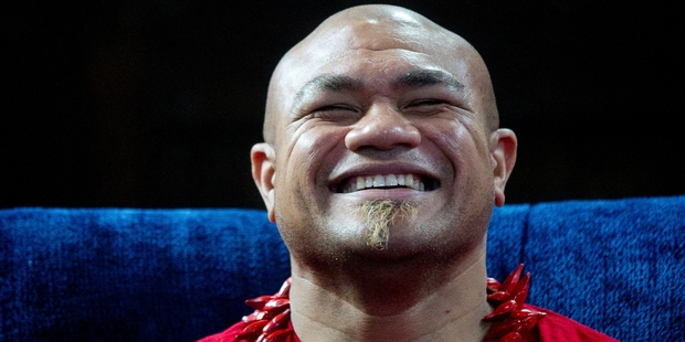 David Tua's Samoan heritage is no barrier to his becoming a candidate for the Maori Party. Photo / Christine Cornege