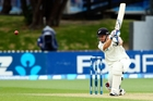 BJ Watling played some bold and aggressive strokes as he held the New Zealand tail together. Photo / Getty Images