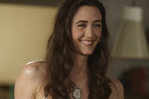 Madeline Zima during a happier time filming Californication.