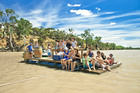 Caudo vineyard fun on South Australia's Riverland region. Photo/Supplied.