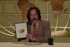 Brian Fantana (Paul Rudd) sits in for Ron Burgundy in this very special edition of RON BURGUNDY'S GUIDE TO THE WORLD, where he tells you everything you need to know about New Zealand. courtesy ParamountNZ.