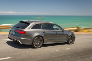 Audi RS6 Quattro Station Wagon. Photo / Ted Baghurst.