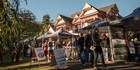Stock up on cheeses, vegetables and treats at the Deans Bush Farmers Market at Riccarton homestead. Photo / Jason Burgess