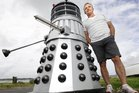 Omokoroa man Dave Logan's Dalek was a Trade Me sensation. Photo/George Novak.