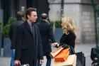 Justin Kirk and Gillian Anderson in 'Mr Morgan's Last Love'.