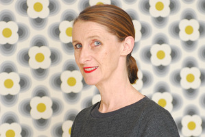 Designer Orla Kiely. Photo / Supplied.