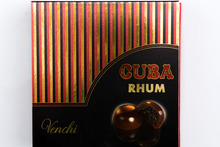 Venchi Cuba Rhum balls. Photo / Babiche Martens.