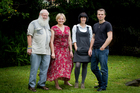 Malcolm Dixon, Magdel Hammond, Ainslie Gee and David Watson have all suffered from depression. Photo / Sarah Ivey