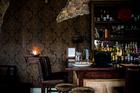 Interior detail of Stafford rd restaurant and Wine Bar. Photo / Babiche Martens.