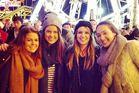 Kiwis (from left) Gemma Gastaldo-Brac, Lara Shapiro, Bridgette Walker and Emma Lines are living the London life.
