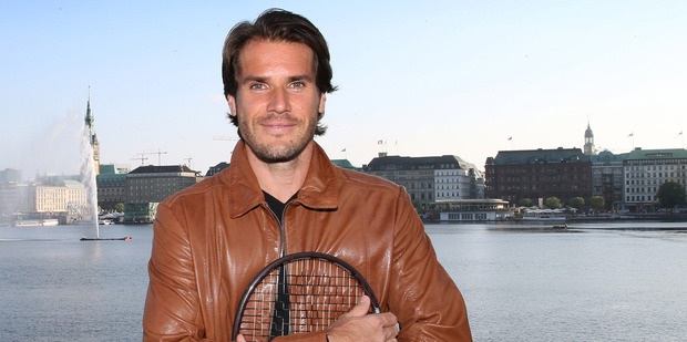 Tommy Haas, who is playing at the Heineken Open in Auckland in 2014.