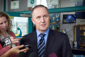 John Key. Photo / Natalie Slade