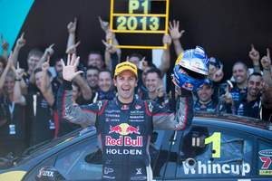 Jamie Whincup of Red Bull Racing Australia winner of the 2014 V8 Supercars Championship