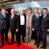Actors, from left, Stephen Hunter (Bombur), Mark Hadlow (Dori), Peter Hambleton (Gloin), John Callen (Oin), Jed Brophy (Nori) and William Kircher (Bifur). Photo / NZH
