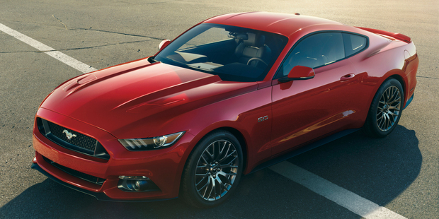 The right-hand-drive Ford Mustang will be on our roads by 2015.