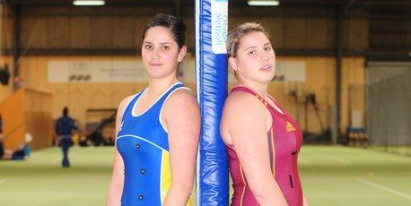 Te Paea and Te Huinga Reo Selby-Rickit. Photo / APN