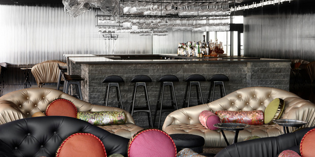 The Lui Bar, on the 55th floor of the Rialto Tower, is the perfect place for a pre-show drink.