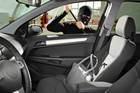 Never leave your car running unattended - not even in your driveway - no matter how quick the errand.'