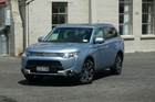 The Mitsubishi Outlander PHEV is expected to be on sale in April next year and supply will be limited to 25 cars a month. Pictures / Ben Selby