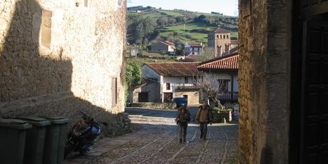 Hikers on El Camino - the pilgrims' road to Santiago de Compostela. Photo / Ewan McDonald