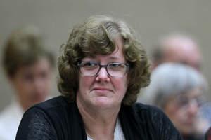 Helen Milner during her trial for murder. Photo / Kirk Hargreaves