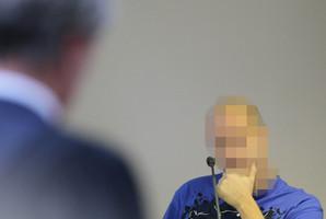 Adam Kearns gives evidence. Photo / Fairfax