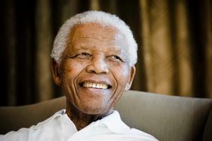 Nelson Mandela. Photo / AP