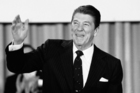 The Cold War was still as hot as ever when US President Ronald Reagan placed the ANC on an official list of terrorist organisations. Photo / AP
