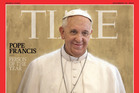 Pope Francis, Time magazine's 2013 Person of the Year. Photo / AP