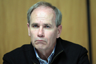 Len Brown will face angry councillors tomorrow. Photo / Doug Sherring