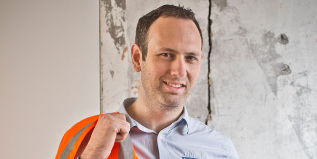 David Bulling, managing director of construction at Cook Brothers. Photo / NZH
