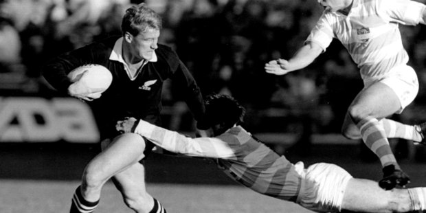 John Kirwan proved you could be an All Black and be worldly. Photo / Paul Estcourt