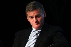 Finance Minister Bill English. Photo / Doug Sherring