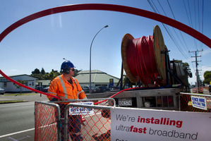 The Ultra Fast Broadband Network is central to the future of Chorus. Photo/Alan Gibson NZH