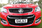 The new Holden VF Commodore. Crucial talks on the future of Holden in Australia will be held on Thursday. photo/Whanganui Chronicle