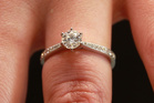 On Trade Me there were more than 300 engagement rings of which 46 were second-hand. Photo / John Borren
