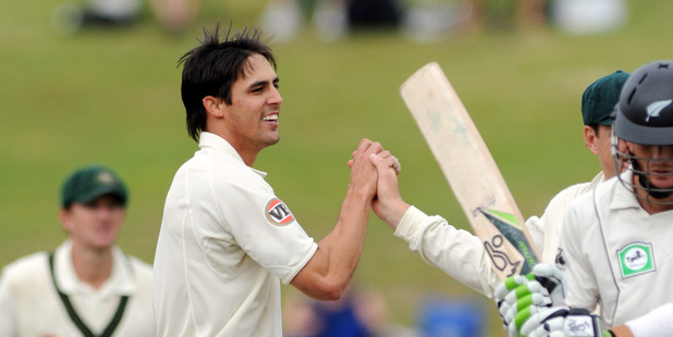 Australia's Mitchell Johnson. Photo / Getty Images