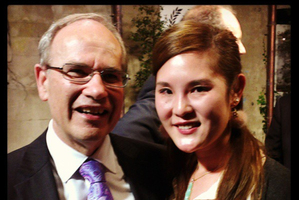 Mayor Len Brown and his mistress Bevan Chuang in a photo posted to Instagram. Photo / Instagram