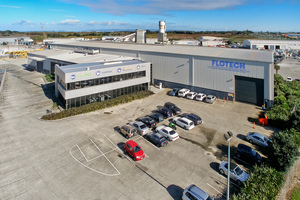 A near-new industrial facility is for sale at 11 Vogler Drive, Wiri.