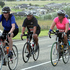 The Puketitiri Road hill climbs coupled up with the strong winds proved testing but this group were determined to see it through.