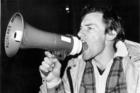 Rugby Springbok Tour 1981: John Minto anti-1981 Springbok tour leader. Photo / NZ Herald