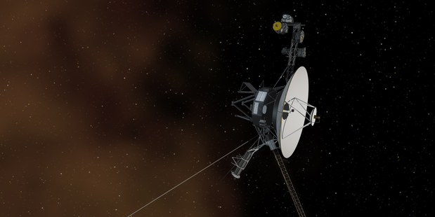 Nasa's Voyager 1 spacecraft. Photo / Nasa