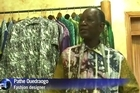 """Nelson Mandela dared wear """"colourful shirts"""" without any shame because he """"lived as he wanted"""", says his tailor Pathe Ouedraogo from his workshop in Abidjan, in the Ivory Coast."""