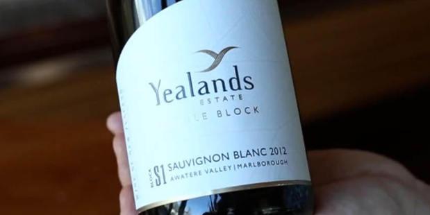 The Yealands Estate Single Block Sauvignon Blanc 2012