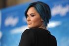 Demi Lovato enjoys mentoring  contestants on X Factor.  Photo / AP